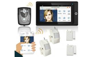 WIFI Video Intercom with PIR Alarm Home System